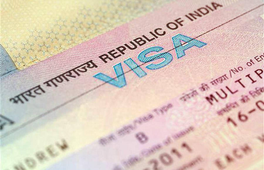 Work visa India - Visados India