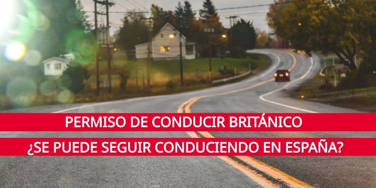 Canje permiso conducir para británicos residentes en España