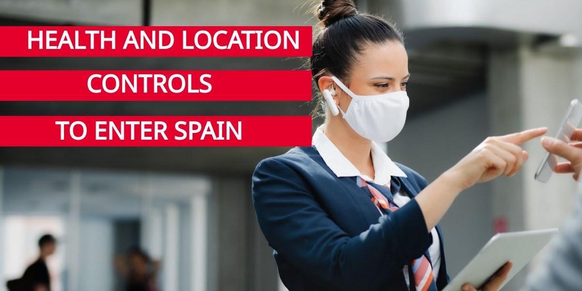 Sanitary controls when entering Spain