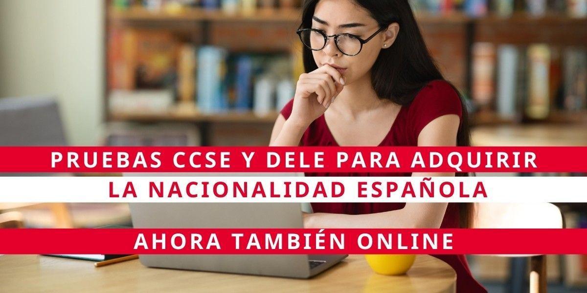 Pruebas online para obtener la nacionalidad española