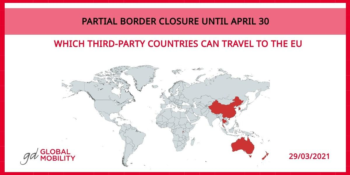 Restrictions on non-essential travel to the European Union