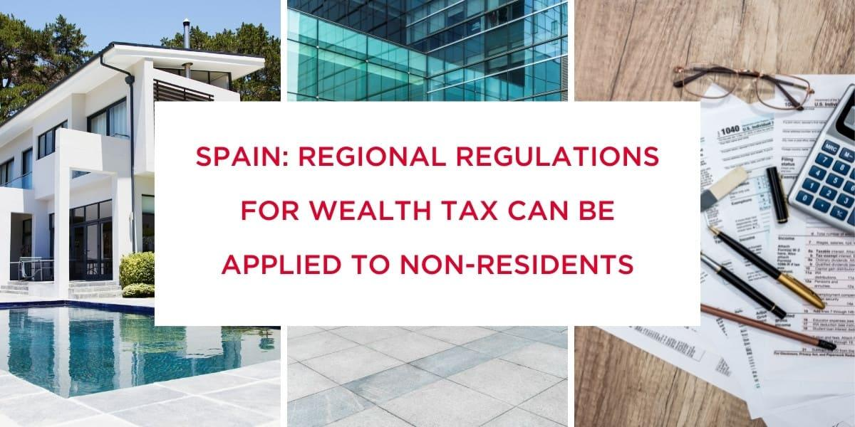 Regional regulations for IP can be applied to non-residents