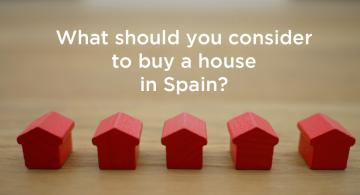 I want a house in Spain