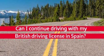 Exchanging driving licenses for British residents in Spain